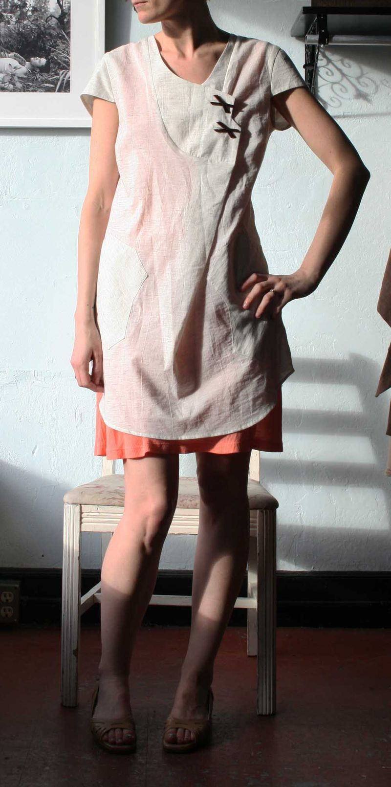 White feral childe dress