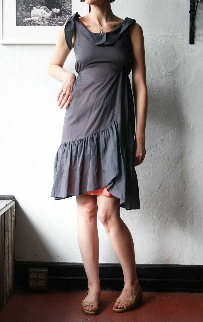 Grey feral childe dress